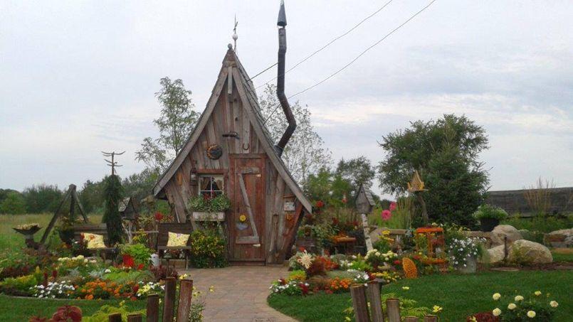 Ces quelques mètres carrés d'abri de jardin peuvent coûter cher en taxes. Crédit: Rustic Way