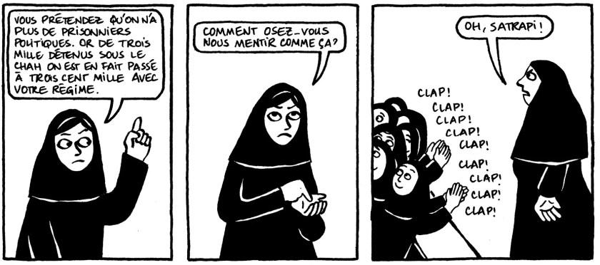 """Résultat de recherche d'images pour """"persepolis BD"""""""