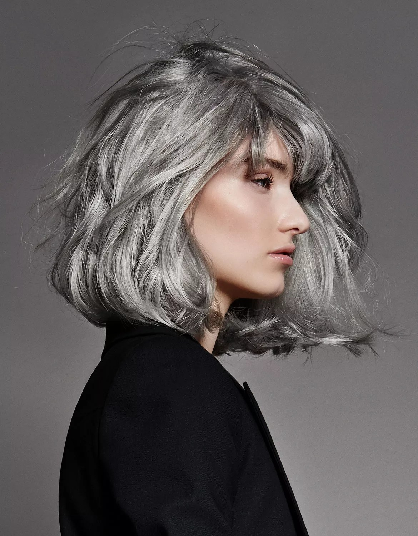 Cheveux Mieux Que Le Blond Le Gris Le Figaro Madame