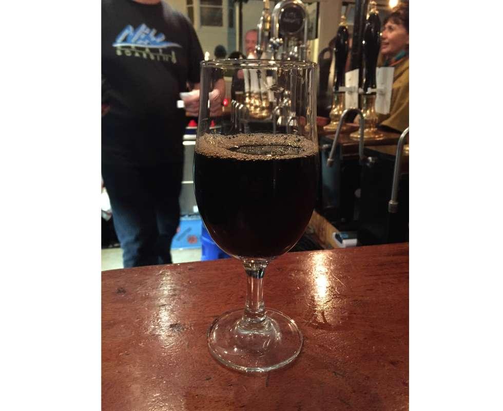 Thornbridge Brewery – Baize 5.5% (Chocolate Mint Stout) image