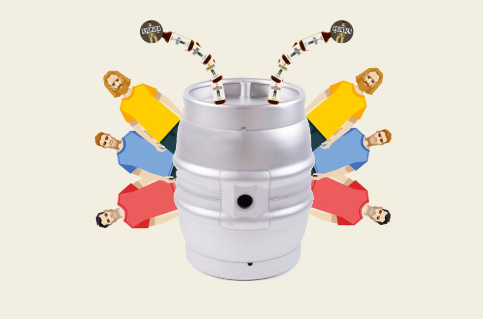 Cask beer image
