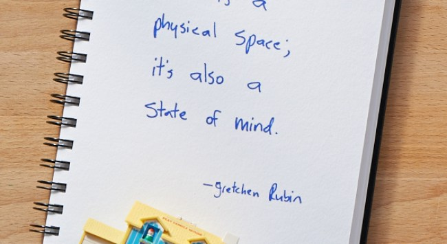 Secret of Adulthood: Home Is a Physical Space; It's Also a Frame of Mind.