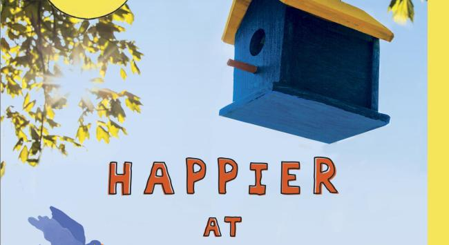 Today! The Paperback of Happier at Home Hits the Shelves.