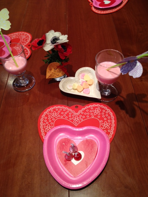 A Happy Habit: Celebrating Valentine's Breakfast (as Pictured)