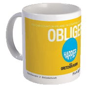 Happier with Gretchen Rubin Mug – Obliger