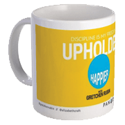 Happier with Gretchen Rubin Mug – Upholder