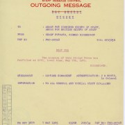 Why General Eisenhower Sent a 15-Word Telegram Instead of an Elaborate Message.