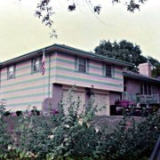 "A Happy Memory: the ""Stripey House"" of Kansas City."