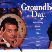 "A Happiness Lesson from Bill Murray in ""Groundhog Day."""