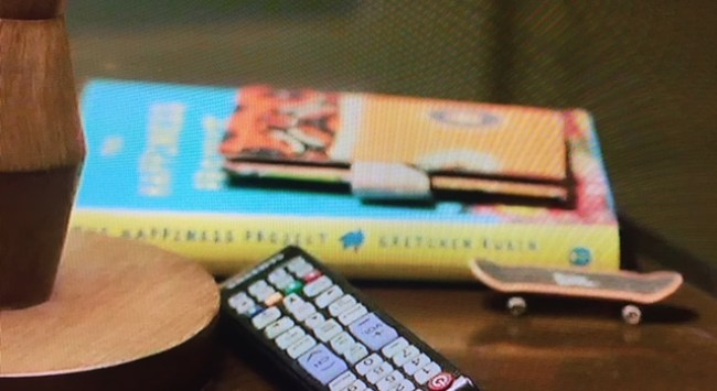 """Fun! My Book """"The Happiness Project"""" Makes a Cameo in the HBO TV Show """"Big Little Lies."""""""