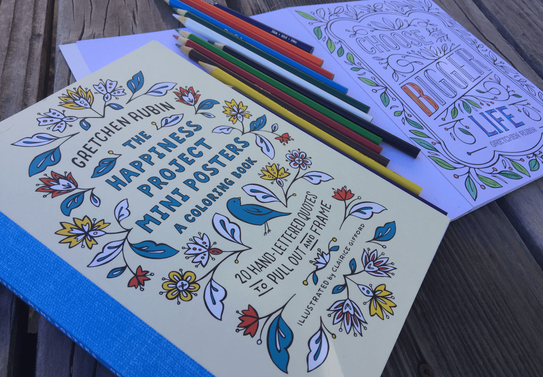 Announcing My New Happiness Project Coloring Book! Do You Love to Color?