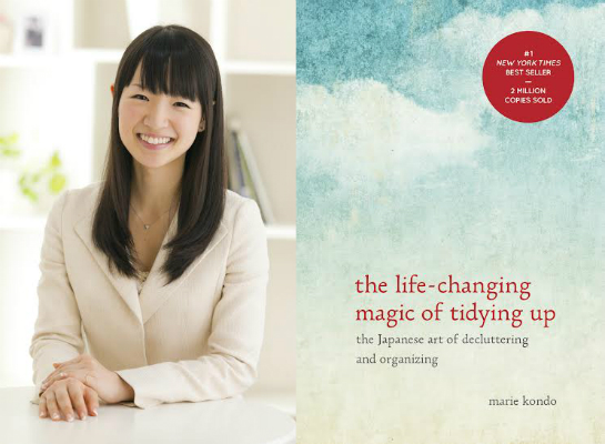 Observations from Marie Kondo about the Life-Changing Magic of Creating Good Habits.