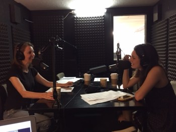 """Being our guest on """"Happier"""" inspired my daughter Eliza to launch her """"Eliza Starting at 16"""" podcast."""
