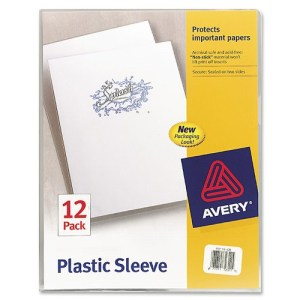 Avery Plastic Sleeves
