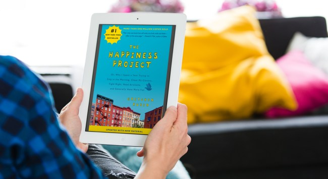 The Happiness of Doing Something New: the Audiobook Version.
