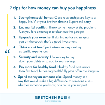 7 Tips for How Money Can Buy You Happiness
