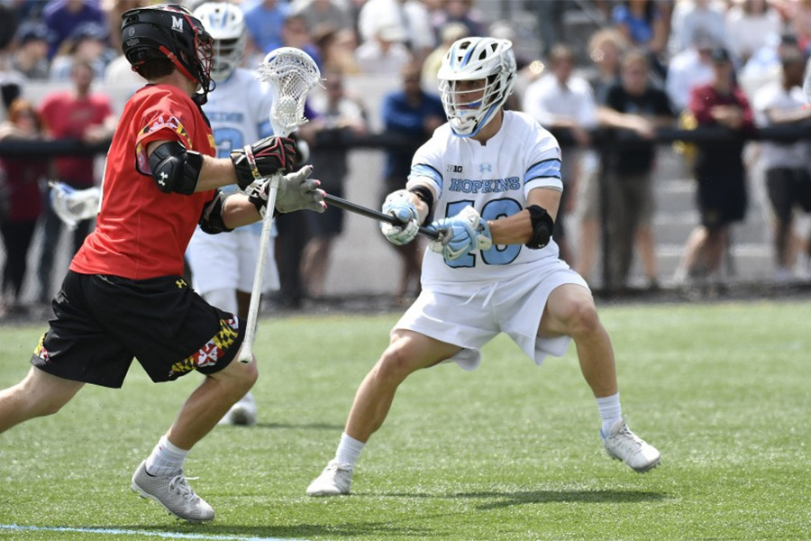 Men's lacrosse: Hopkins falls to Maryland in third ...
