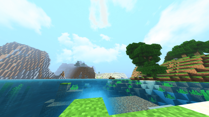 These shaders reveal a new level of possibilities by a uncommon blend of unique effects; Dzpe Shader Minecraft Pe Texture Packs