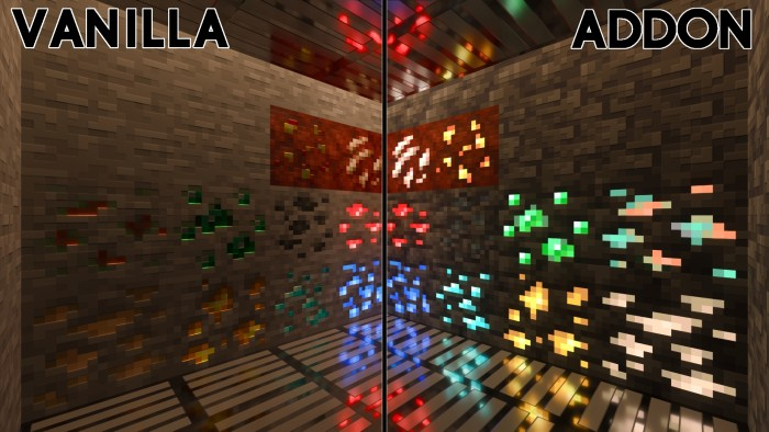 Vanilla RTX Conversion Pack, Kelly's Minecraft vanilla RTX Conversion Pack is a simple texture pack that you can see really nice scenes with the glazed terracotta has been changed