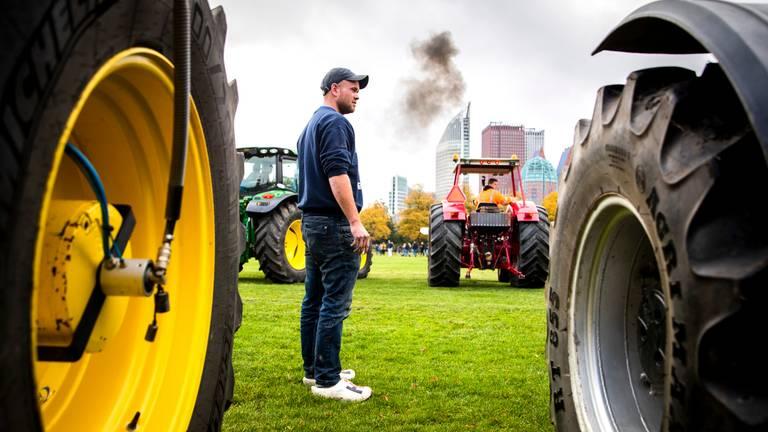 boze boeren rijden tegen de afspraak in