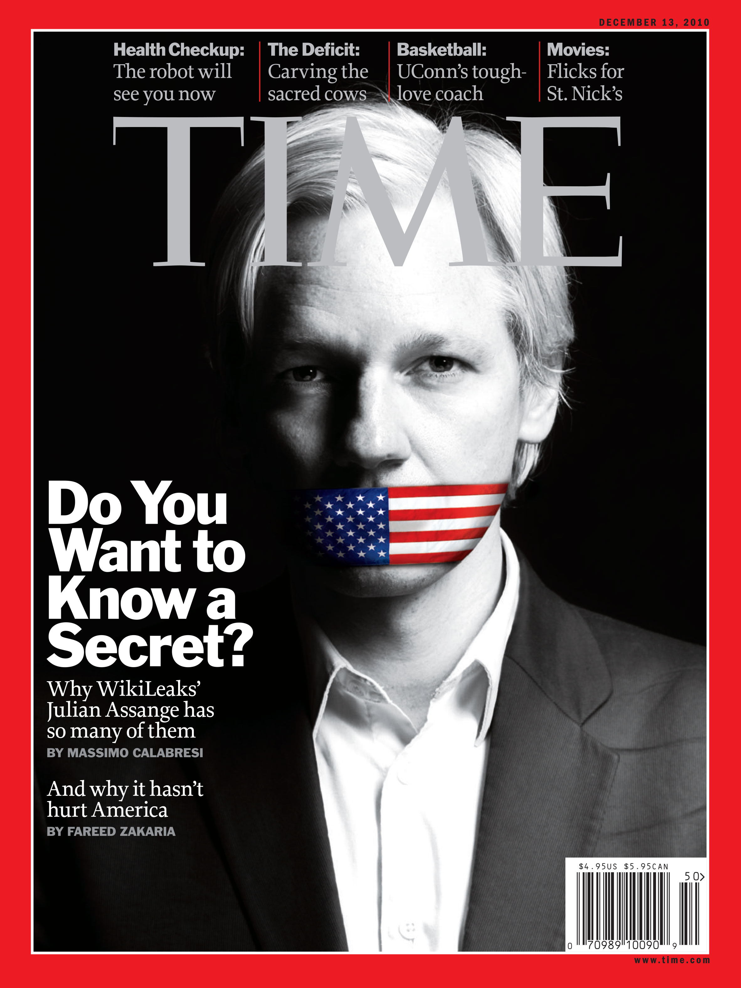 WikiLeaks' War on Secrecy: Truth's Consequences | Time
