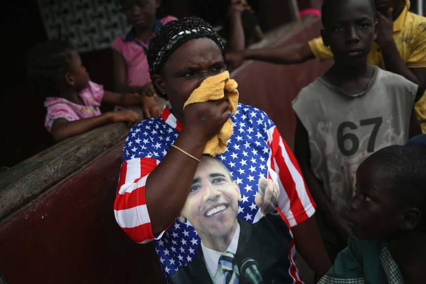 Harrowing Images of Liberia's Ebola Outbreak   Time