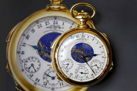 Patek Philippe Pocket Watch Sells for $24 Million at Sotheby's Auction    Time