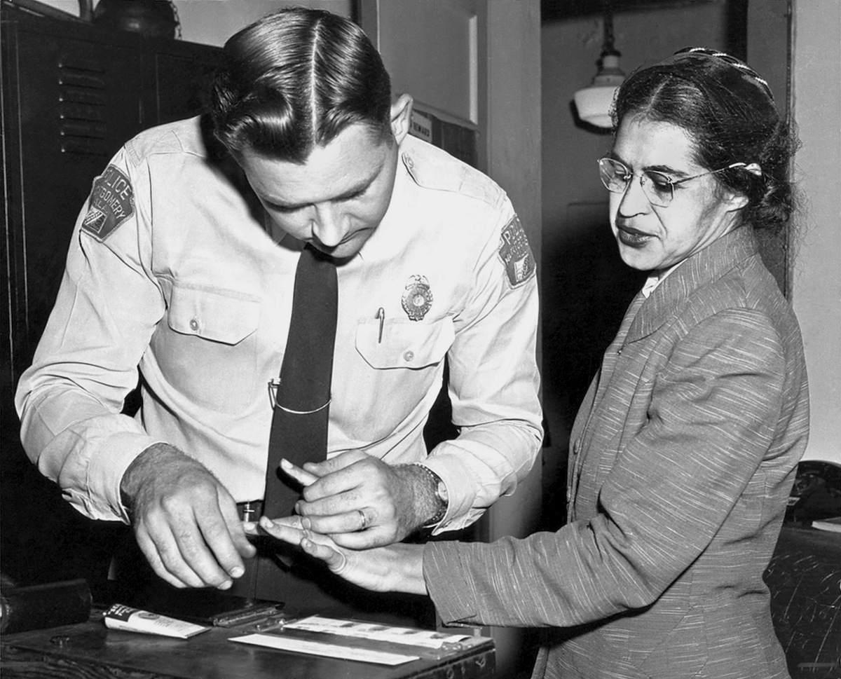Rosa Parks Civil Rights Anniversary Marking Her Dignity