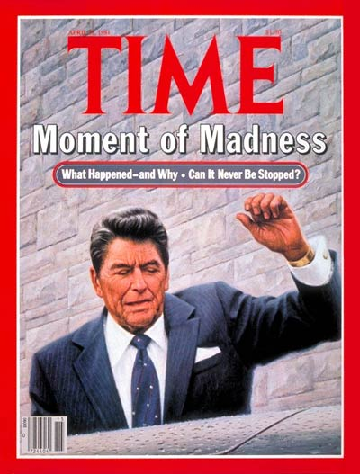 The April 13, 1981, cover of TIME