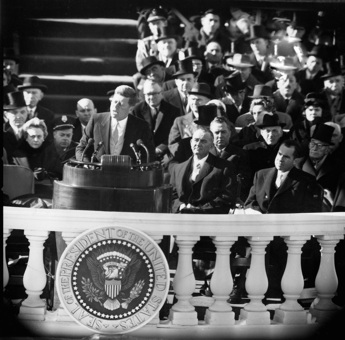 Hear Jfk S Inaugural Address And The Music It