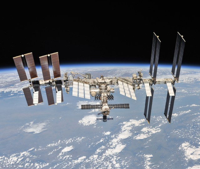 The International Space Station Turns  Time