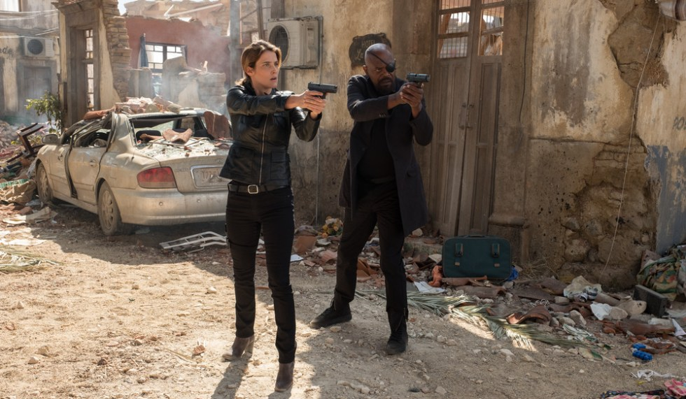Samuel L Jackson Cobie Smulders Spider-Man: Far From Home