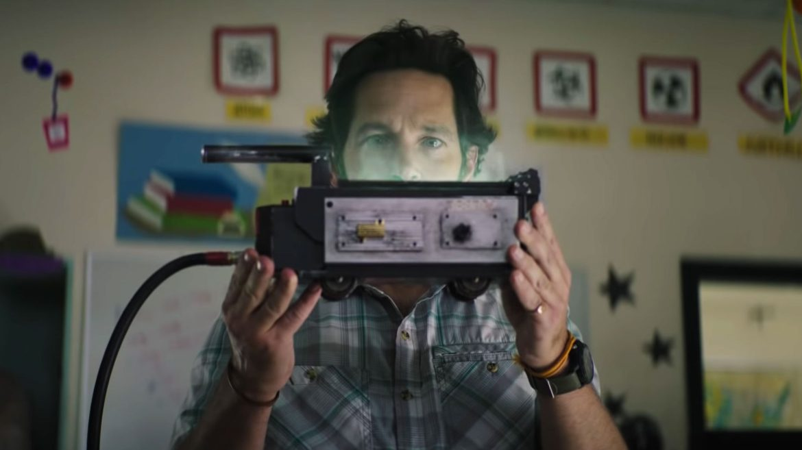 Paul Rudd in Ghostbusters: Afterlife