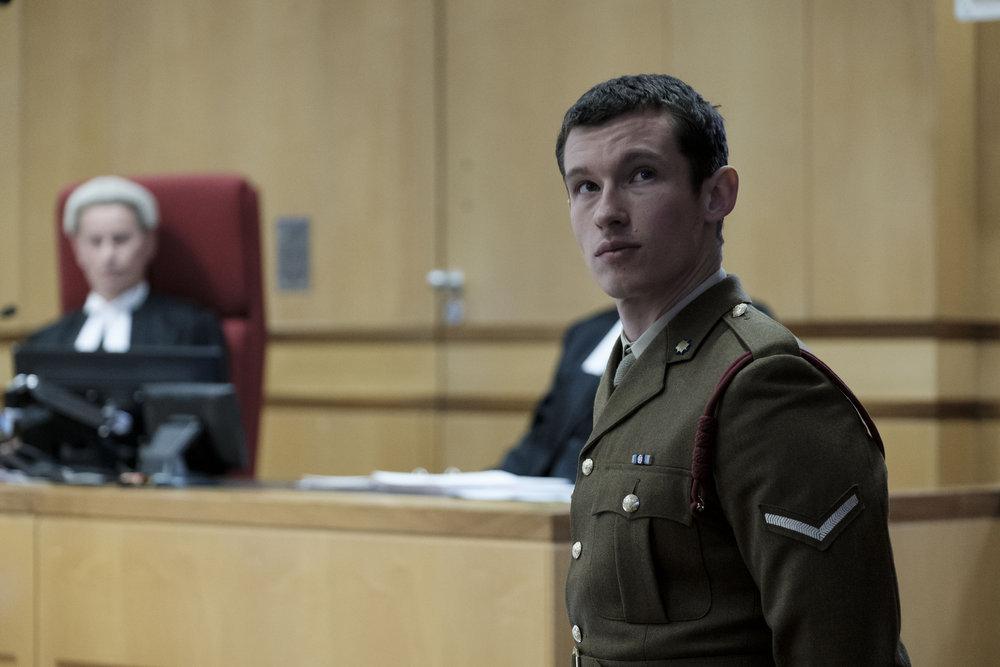 Callum Turner as Shaun Emery in 'The Capture'