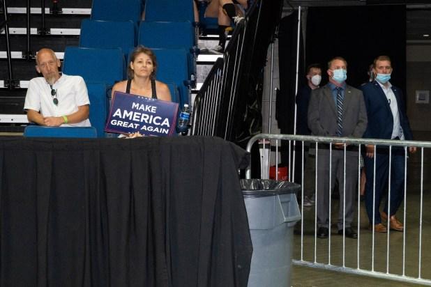 Partidarios de Trump en su manifestación en Tulsa, Oklahoma, el 20 de junio.