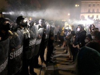 Wisconsin Gov. Calls Out National Guard After Violent Protests Over Police Shooting