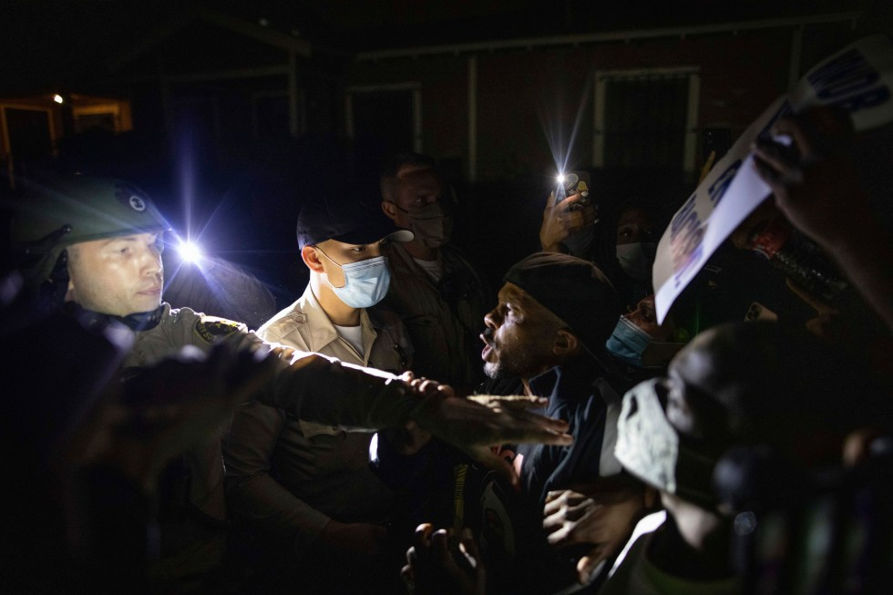 APTOPIX Racial Injustice-California Protests