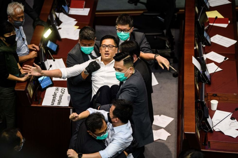 HONG KONG-CHINA-POLITICS