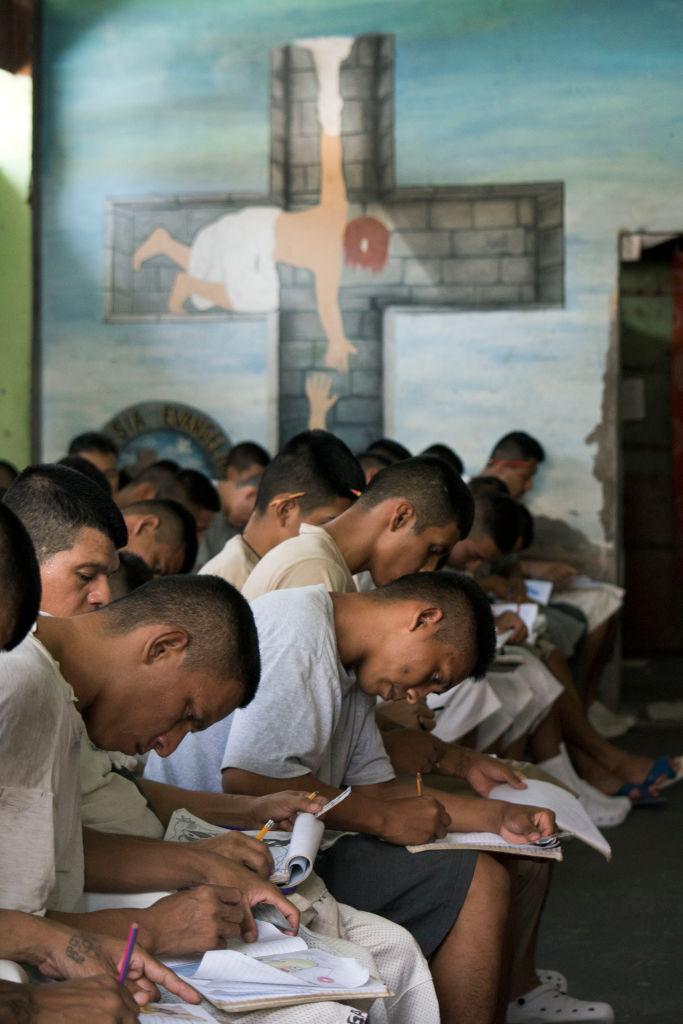 El Salvador Gangs Prison Church