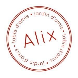 Alix - Table & Jardin d'Amis