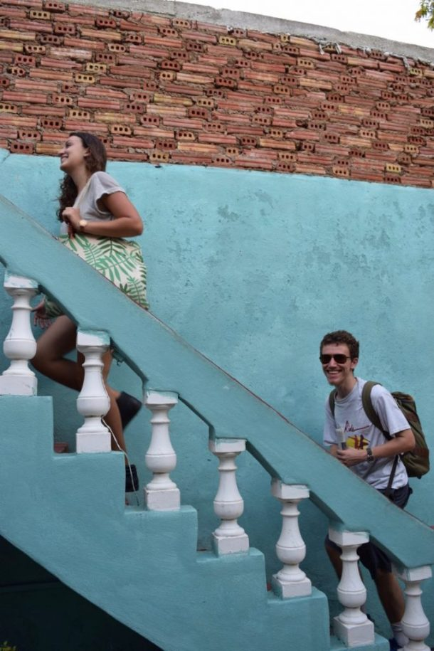 Study abroad students in Havana Cuba