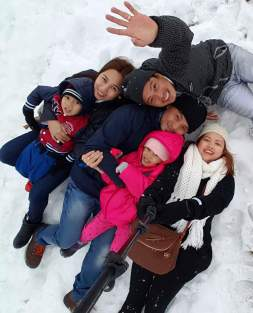 groupie in the snow ;)