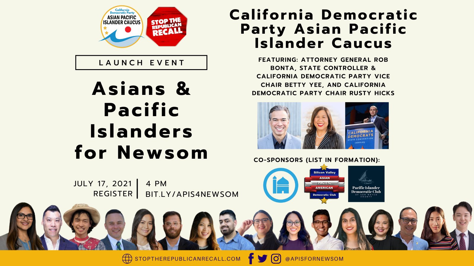 Stop the Republican Recall - Asian and Pacific Islanders for Newsom