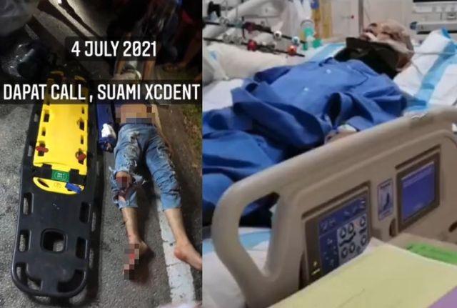 suami accident 1