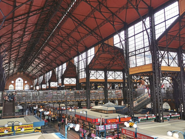 The Great Market Hall is where you can find some wonderful local produce like cheese and truffles.