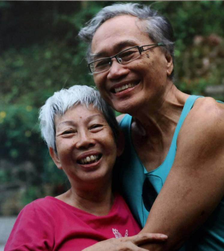 Even after 45 years of marriage, Dr Khairuddin and Khairiah say