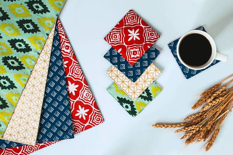Batik Boutique's placemats and coasters are made by marginalised women who get to earn a steady income.
