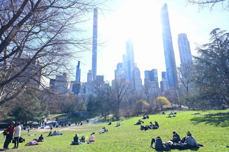 One of the world's most beloved public spaces, Central Park is located in the middle of Manhattan. - AFP
