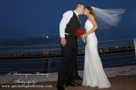#brideandgroom, #justmarried, #njwedding, #apicturesquememoryphotography, #weddingphotography, #weddings, #watersiderestaurant, #nycskyline, #love, #weddingveil