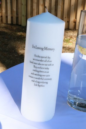 #njwedding, #weddingphotos, #memorialcandle, #pomptonlakesnjwedding